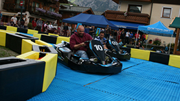 Neveplast Skiddy Drift Karts Livigno