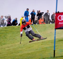 Kristina-Ghedina-Neveplast-dry-ski-slope