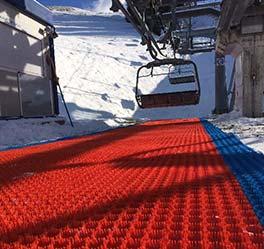 dry ski slopes