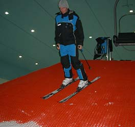 artificial ski slopes