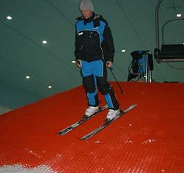 artificial ski slopes