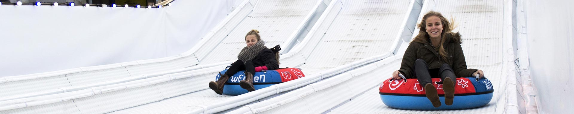 In Poland the biggest summer-winter tubing park in the world