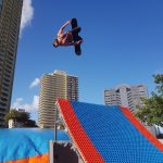 JUMP INTO THE FUN! The mountain lands in the surfers paradise!