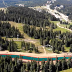 A NEVEPLAST DRY SKI SLOPE ON TOP OF THE WASTE-TO-ENERGY PLANT